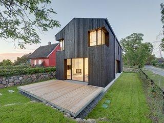Haus WIECKin - modernes Ferienhaus an der Ostsee mit Sauna und Kamin mieten - Wieck vacation rentals