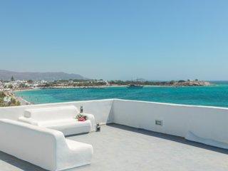 Unique Beachfront Cycladic Villa | Agios Prokopios | Naxos island - Agios Prokopios vacation rentals