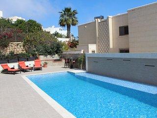 Fantastic Villa with Large Pool and sunbathing Platform/Games Room/Indoor Pool - Cirkewwa vacation rentals