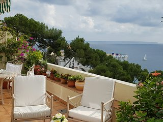 Exclusive Illetes apartment, fantastic sea views, shared pool, close to beach - Illetes vacation rentals