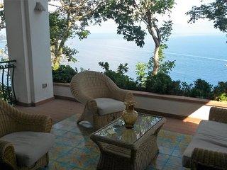 Villa Vespucci - terrace garden seaview WIFI pool - Praiano vacation rentals
