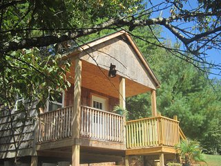 Wonderful Cottage with Deck and Mountain Views - Mountain City vacation rentals