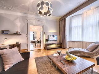 Jewish Town - Huge & Unique 3bdr | Brehova Resid. - Prague vacation rentals