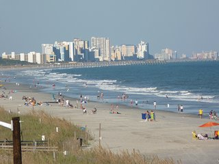 comfortable home ,in a safe, private gated community minutes walk to the Beach - Surfside Beach vacation rentals