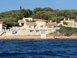 Superb sea front villa 10p., St-Mandrier, private pool - Saint-Mandrier-sur-Mer vacation rentals