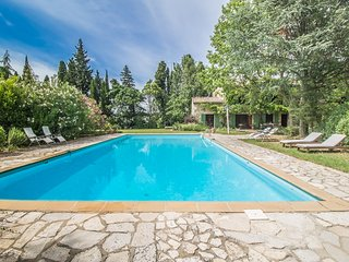 Close to Avignon, superb Landhouse 10p. with its majestic pool - Noves vacation rentals