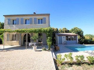 Holiday Villa 6p. 5 km to Uzès, private pool - Blauzac vacation rentals