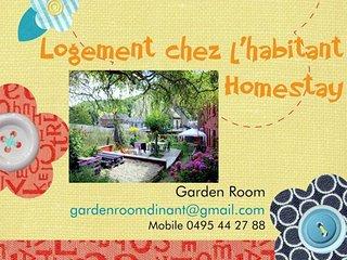 Garden Room - Dinant - Homestay - Logement chez l'habitant - Dinant vacation rentals