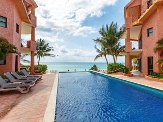 Luna Encantada D3 - Beach Front Penthouse Unbeatable Location!! - Playa del Carmen vacation rentals