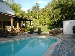 Beautiful Portillo Villa With Private Pool And Beach - Las Terrenas vacation rentals