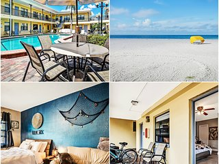 Condo: 2 min to the Beach: Heated Pool: 2 bikes: Grill - Redington Beach vacation rentals
