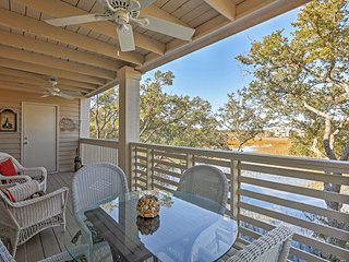 Terrific 2BR Seabrook Condo w/Private Porch! - Seabrook Island vacation rentals
