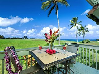 Spectacular Ocean and Golf Course views, 3 bedroom condo - Princeville vacation rentals