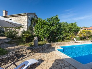 13301 Beautiful stone holiday house with pool - Kapovci vacation rentals