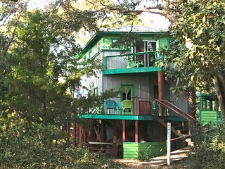 Ashley Tree House, close to beach, playground, food, drink & water sports. - Folly Beach vacation rentals