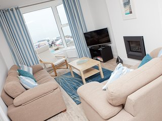 SeaCrest - House With Views over Porthmeor Beach – Sleeps 10 with Parking - Saint Ives vacation rentals