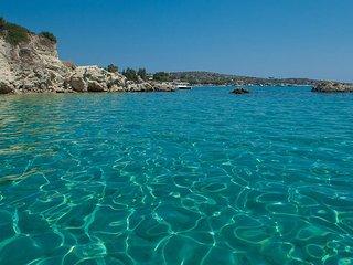 Superb Villa next to beach with swimming pool and sea views - Akrotiri vacation rentals