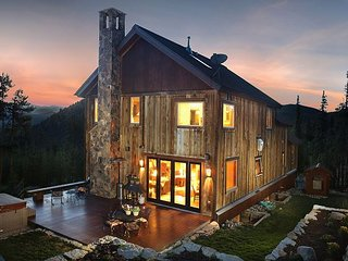 Panoramic Mountain Views Abound - Beautifully Appointed Mountain Lodge - Breckenridge vacation rentals