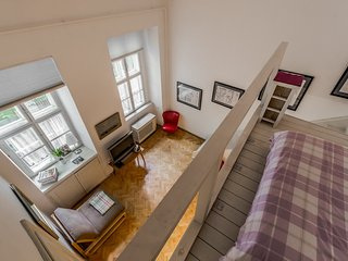 centrally located at andrassy ut, stunning bright tranquil apt - Studio Six - Budapest vacation rentals