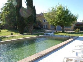 """""""Les Cyprès"""", (10 pers: 6 ad + 4 kids), WIFI, Air-cond, BBQ, bikes, Pool - Caderousse vacation rentals"""