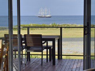 Beautiful Cottage with Deck and Water Views - Naracoopa vacation rentals
