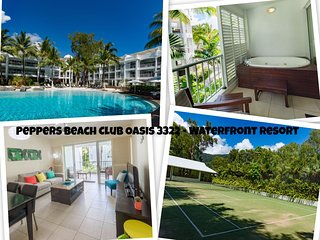 Peppers Beach Club Oasis 3322 - Waterfront Resort Spacious 2 Bedroom Apartment - Palm Cove vacation rentals