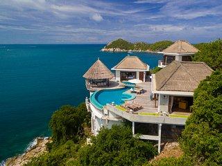Eagle Villa 2-10P, Breakfast and maid incl - Koh Tao vacation rentals