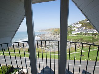 Pointview-Woolacombe seafront with seaview balcony - Woolacombe vacation rentals