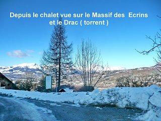Chalet au pied tire fesse ou piscine vue montagne - Saint-Leger-les-Melezes vacation rentals