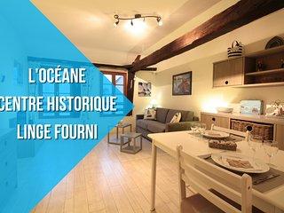 L'OCEANE : CENTRE HISTORIQUE + LINGE FOURNI - Vannes vacation rentals
