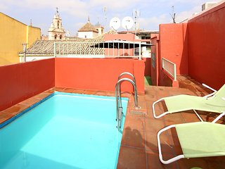 Archeros Terrace. 1 bedroom, terrace and private pool - Seville vacation rentals