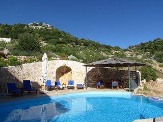 Chateau Lycia 7 bedroom villa in beautiful hillside location, countryside views - Bezirgan vacation rentals