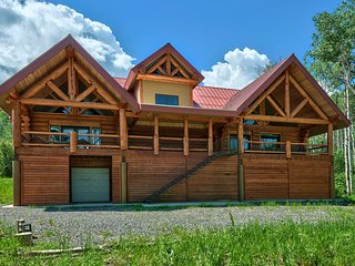 Large Vega Lake Colorado Luxury Real Log Cabin - Collbran vacation rentals