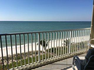 """Beachfront condominium - """"The Barcelona"""", located on stunning Vanderbilt Beach - Vanderbilt Beach vacation rentals"""