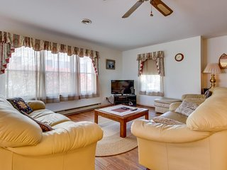 Family-friendly, canal-front home with private dock - walk to beach! - Ocean City vacation rentals