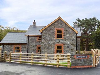 THE FARMHOUSE, luxurious house, lovely views, hot tub, woodburner, Capel Bangor, Ref 931725 - Capel Bangor vacation rentals