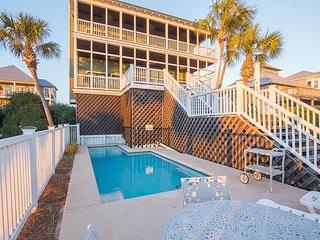 5BR, 4BA Grayton Beach Home - Gulf Views & Private Pool, Sleeps 20 - Santa Rosa Beach vacation rentals