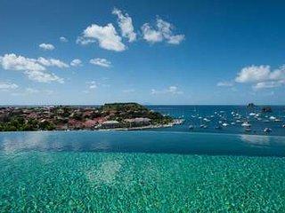 Fabulous 3 Bedroom Villa overlooking the Ocean overlooking Gustavia Harbour - Gustavia vacation rentals