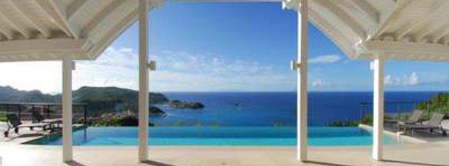 Modern 4 Bedroom Villa Overlooking the Ocean in Colombier - Image 1 - Anse des Flamands - rentals