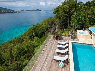 Fantastic 4 Bedroom Villa overlooking Magans Bay on St. Thomas - North Side vacation rentals