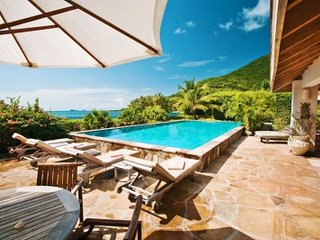 Spectacular 4 Bedroom Beach Villa in Mahoe Bay - Virgin Gorda vacation rentals