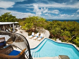 Distinguished 4 Bedroom Villa with View on Virgin Gorda - Spanish Town vacation rentals