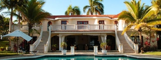6 Bedroom Villa with Olympic Size Pool in Puerto Plata - Image 1 - Puerto Plata - rentals