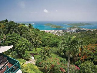 Elegant 2 Bedroom Hillside Mansion on St. Thomas - Frenchtown vacation rentals