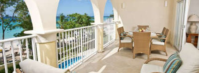 Lovely 3 Bedroom Oceanfront Condo in Christ Church - Image 1 - Oistins - rentals