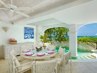 Beautiful 3 Bedroom Beachfront Apartment in Paynes Bay - Holder's Hill vacation rentals
