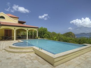 4 Bedroom Villa with Pool & Ocean View in Smugglers Cove - Tortola vacation rentals