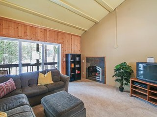 Dog-friendly, waterfront condo with mountain views - close to skiing - Soda Springs vacation rentals