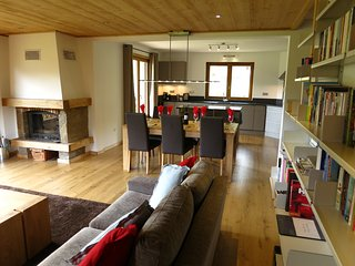 Chalet Chablais, spacious well-equipped apartment with mountain views - Essert-Romand vacation rentals