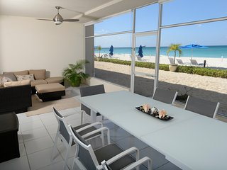 NEW Listing 2017 - Open patio onto SevenMileBeach sand- 2300 sf luxury  condo - Seven Mile Beach vacation rentals
